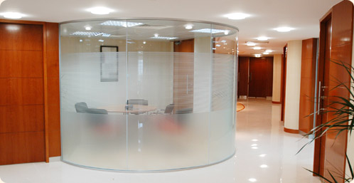 Trent Glass Curtain Walling Switchable Glass Glass