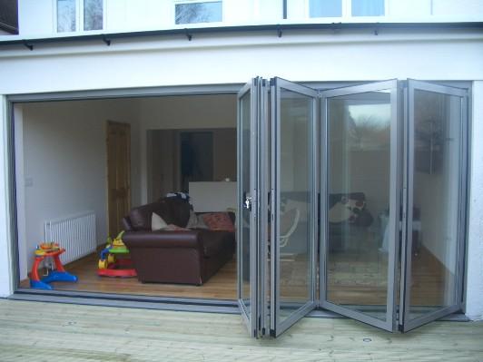 Bi Fold Glass Doors : Trent glass frameless bi fold doors manufacturer